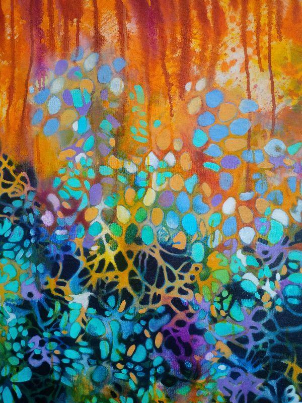 Painting in progress - francoiseissalyart | Monday September 8th, 2014 - Lundi 8 septembre