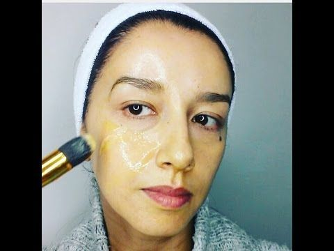 mascarilla antiarrugas. efecto inmediato. (remedio natural) - YouTube