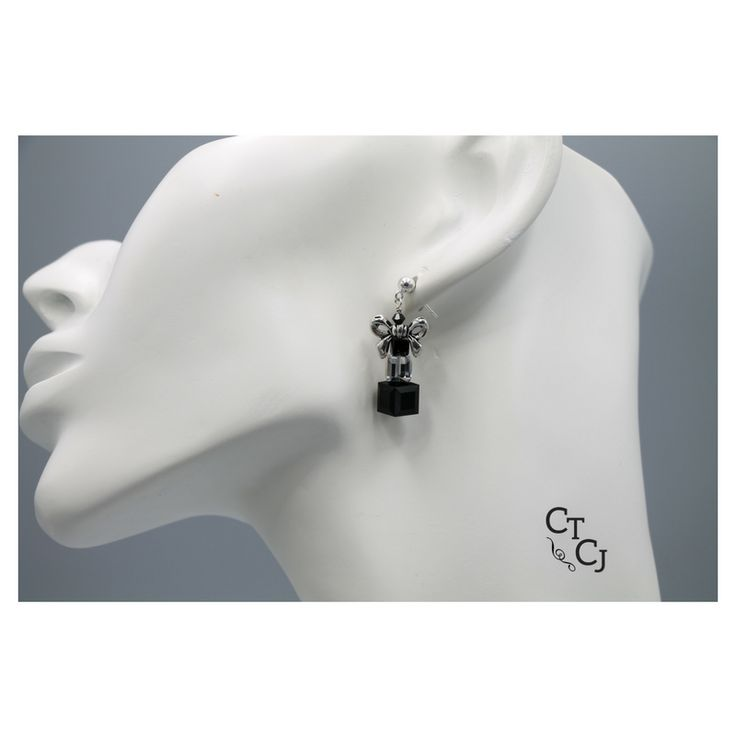 Who doesn't love bows? Come and see our selection of earrings! Swarovski crystal, pewter bows and sterling silver.