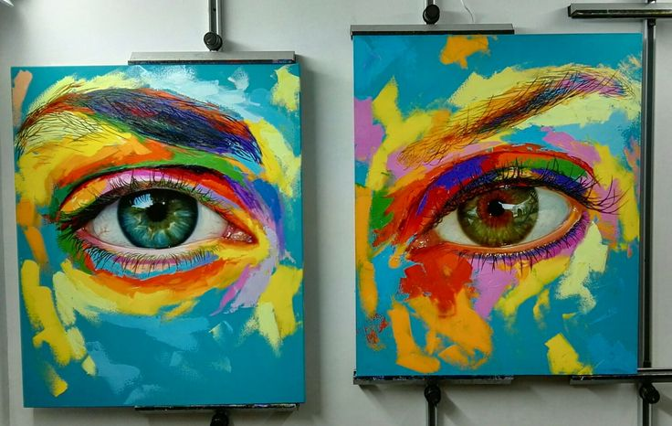 Óleo sobre lienzo, por Patricia Vesga, de la serie Espejos del Alma