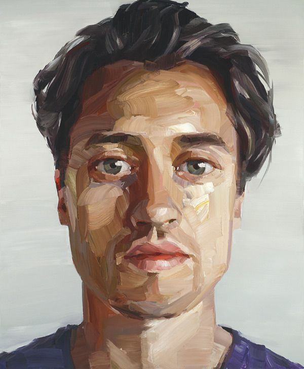 #Art #Faces - expressionist paintings, modern, artist, nick lepard http://www.ablankcanvas.net