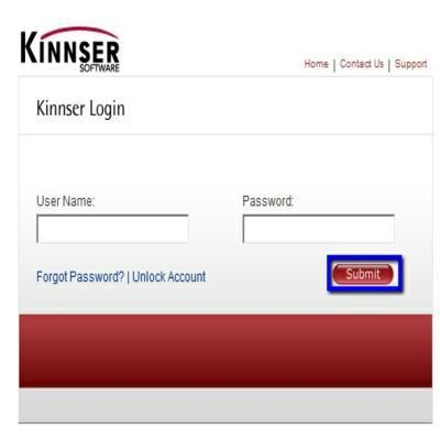 kinnser home health login