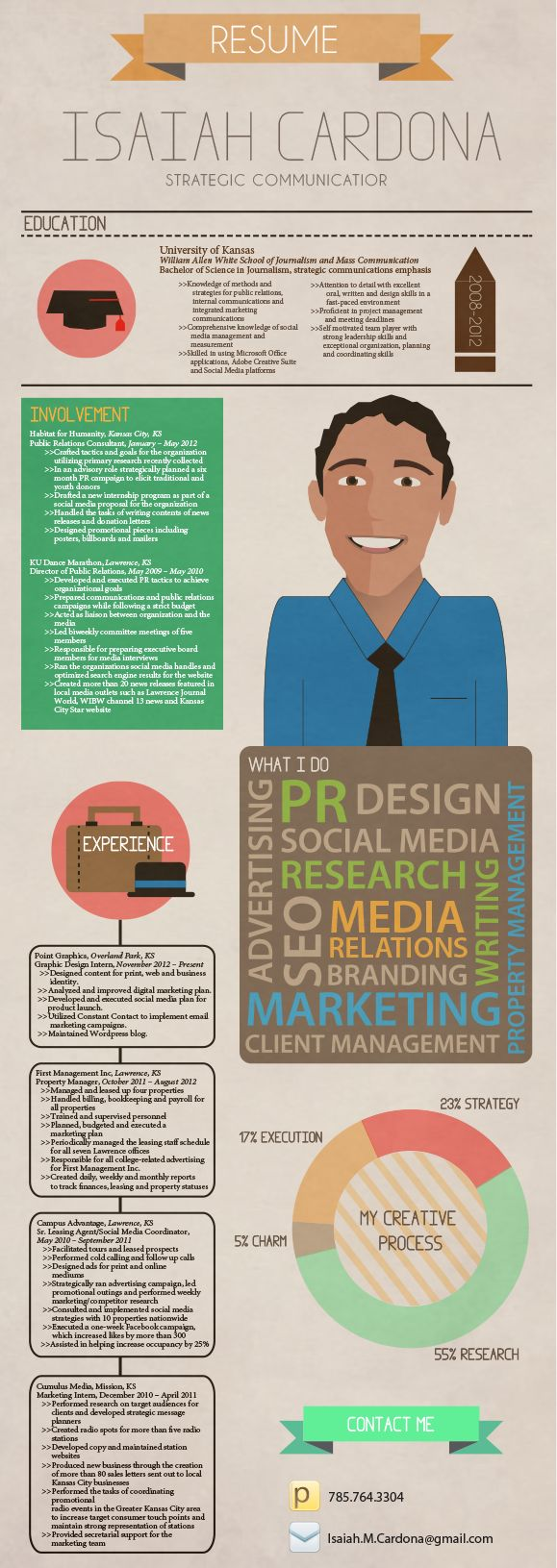 Awesome Resume idea #publicrelationsresume #publicrelationsideas