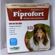 Fiprofort brings you to prevent your dogs from flea, tick and chewing lice treatment at just $21.99  from  Genericfrontlineplus