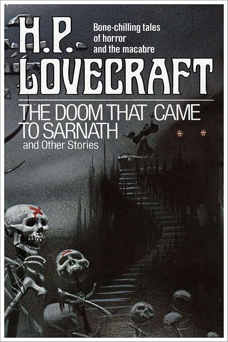 Hp lovecraft the doom that came to sarnath vintage science