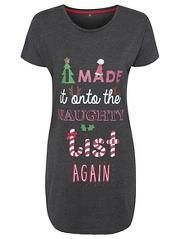 Christmas Slogan Nightdress