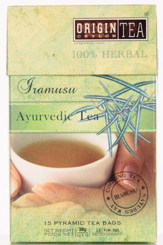 Iramusu - Beruhigungstee Ayurveda Line im praktischem Pyramiden-Teebeutel