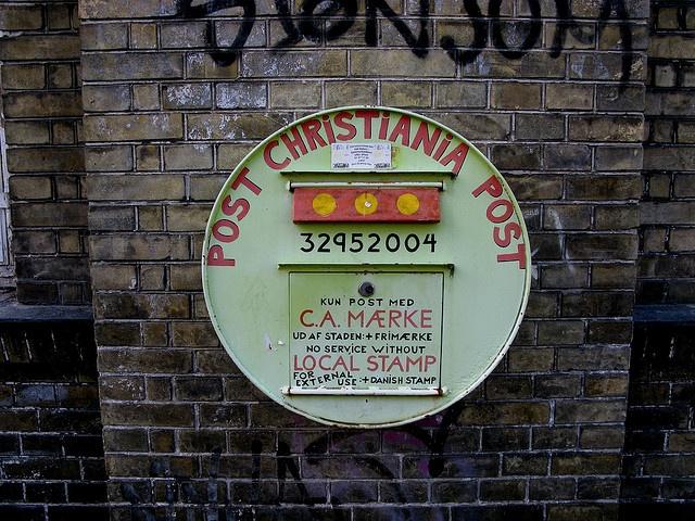 Christiania Postbox  - Copenhagen
