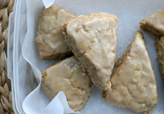 My starbucks maple oat scones recipe - tastes like the real thing!