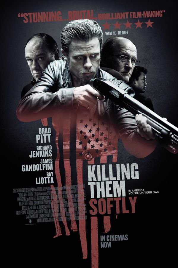 Killing Them Softly by Scott Woolston, via Behance