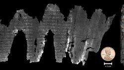 Pergaminho revela um dos primeiros textos do Antigo Testamento