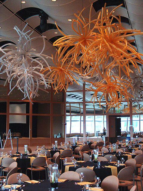 balloon chandeliers