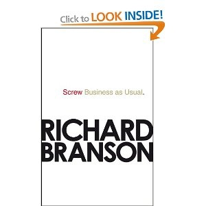 'Screw Business As Usual' - Sir Richard Branson. Such a fantastic book and a message to us all that we can and should all be making a difference in the world.