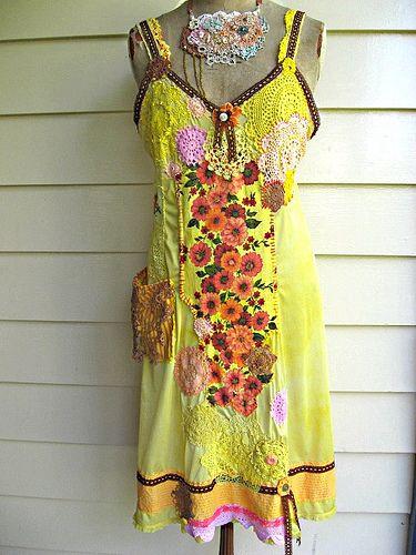 Reggae Salsa Dress, by AllThingsPretty