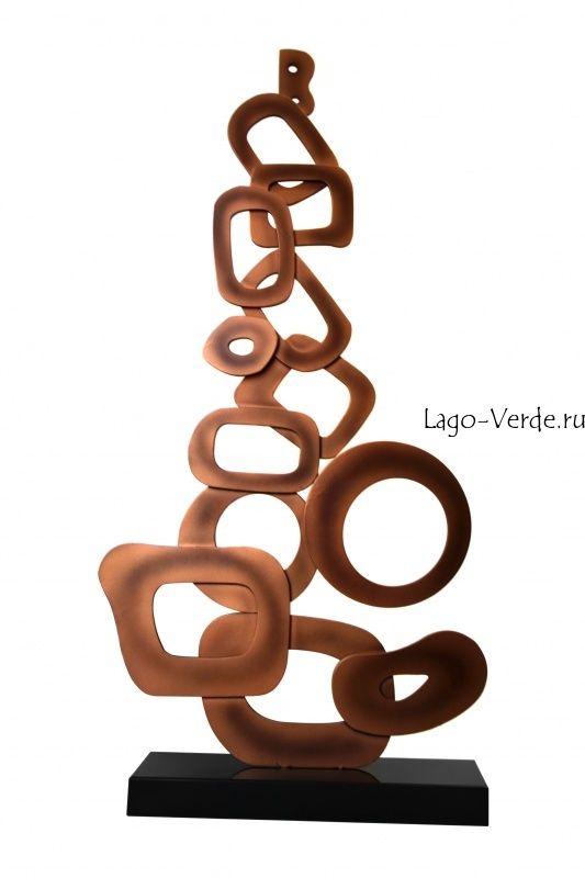 Современная скульптура из нержавеющей стали купить в интернет-магазине современной скульптуры для сада и интерьера