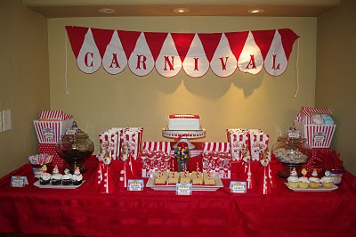 Maybe the next birthday party theme for my big girl when she turns 5: Carnival Parties, Bday Party, Carnival Theme, Carnival Party, Party Theme, Carnival Ideas, Carnival Circus, Party Ideas, Birthday Ideas