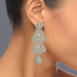 Featuring this beautifulZircon Danglers in our wide range of Earrings. Grab yourself one. Now!