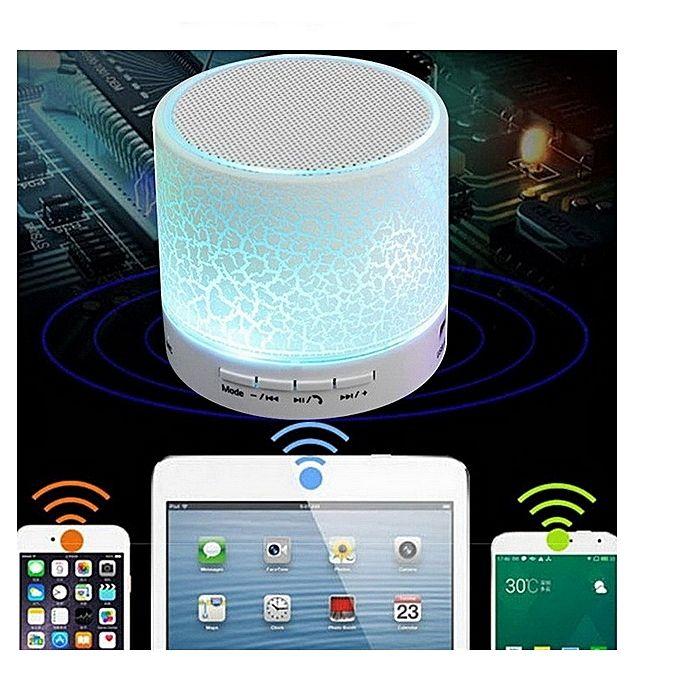 Buy Generic Led Wireless Mini Speaker Usb Fm Radio To Bluetooth Speakers Player Blue Best Price Online Bluetooth Speakers Bluetooth Wireless Music System