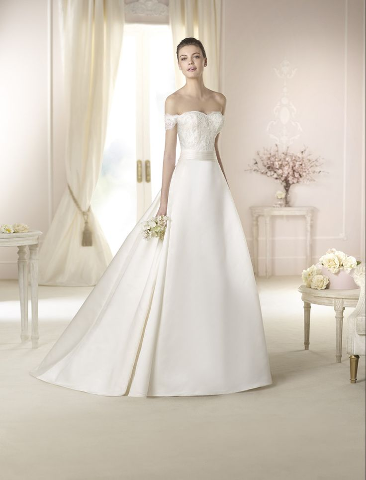 Style * DAUDI * » Wedding Dresses » White One 2015 Collection » by San Patrick, love this skirt