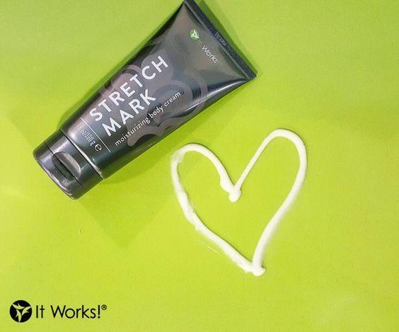 It Works! Kunden lieben dieses feuchtigkeitsspendende, nicht-fettende Gel! Es mindert das Aussehen von #Dehnungsstreifen und #Narben und gibt der #Haut ihre Geschmeidigkeit zurück! www.mayitwork4you.com