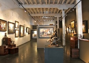 Lonely Dog Gallery   Ivan Clarke art collectibles, giclees and bronzes   Britomart, Auckland