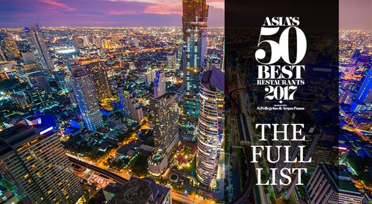 Gaggan in Bangkok is the winner of Asia's 50 Best Restaurants 2017, taking the title for an extraordinary third year in a row. Here's the full list: https://www.finedininglovers.com/blog/news-trends/asia-50-best-restaurants-2017-list/