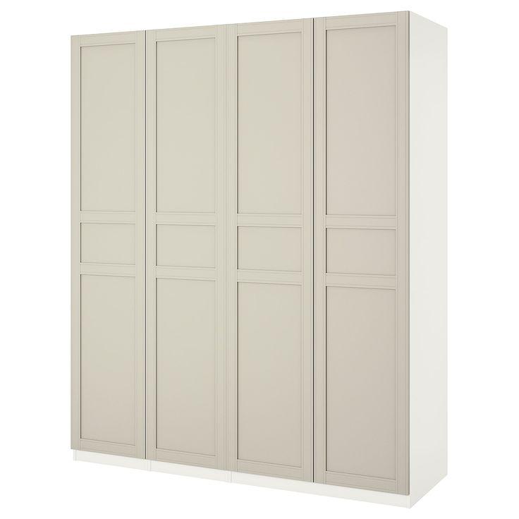 pax wardrobe white flisberget light beige ikea pax wardrobe