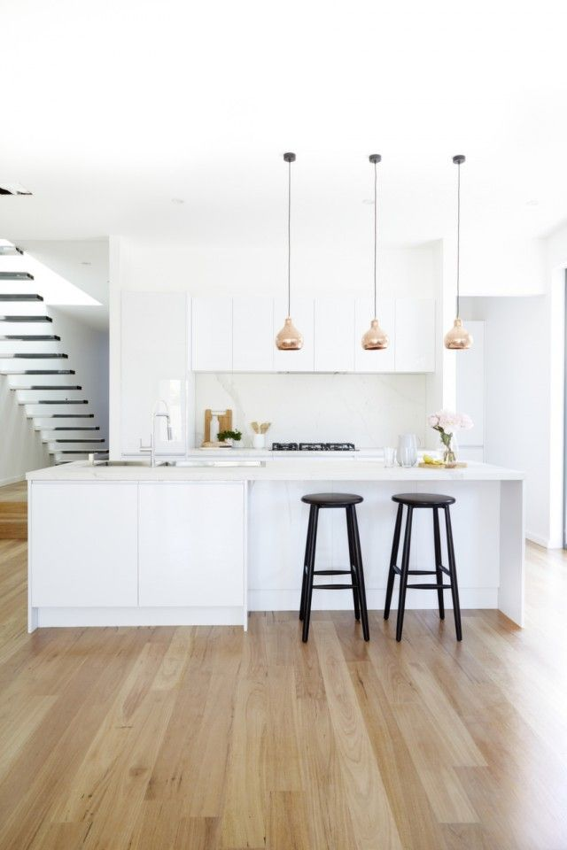 152 best kitchen images on pinterest kitchen ideas kitchen modern as they prepare to go back on the block bec george show us their new kitchen aloadofball Image collections
