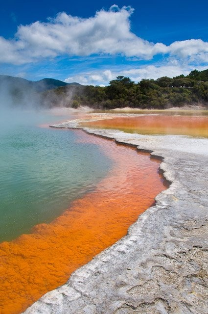 The Champagne Pool, Wai-O-Tapu geothermal area near Rotorua, New Zealand - Mike Hollman Photography