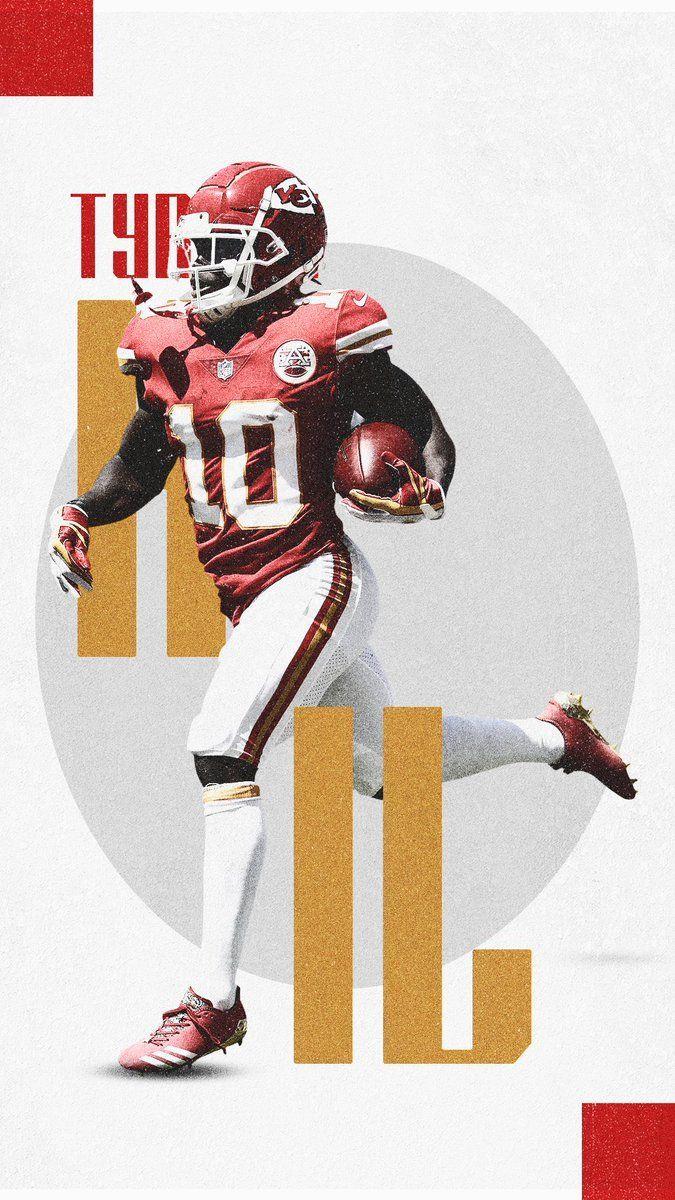 Nfl Tyreek Hill Graphicdesign Sports Nfl Football Art Kansas City Chiefs Football Nfl Football Wallpaper
