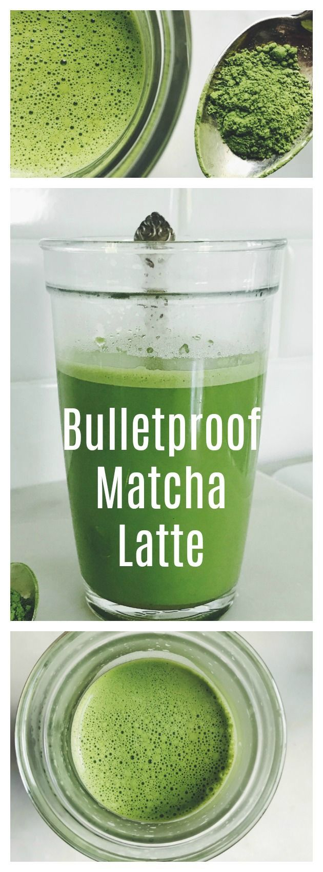 Relax with a Bulletproof Matcha Latte! Click through to read more about the benefits of matcha and brain octane.