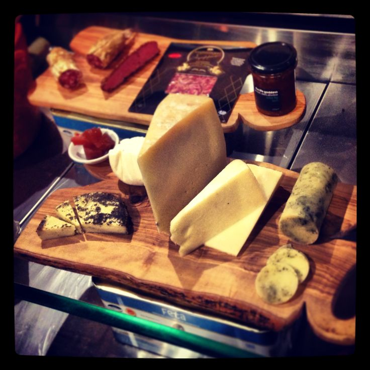 TLG cheese and meat platter