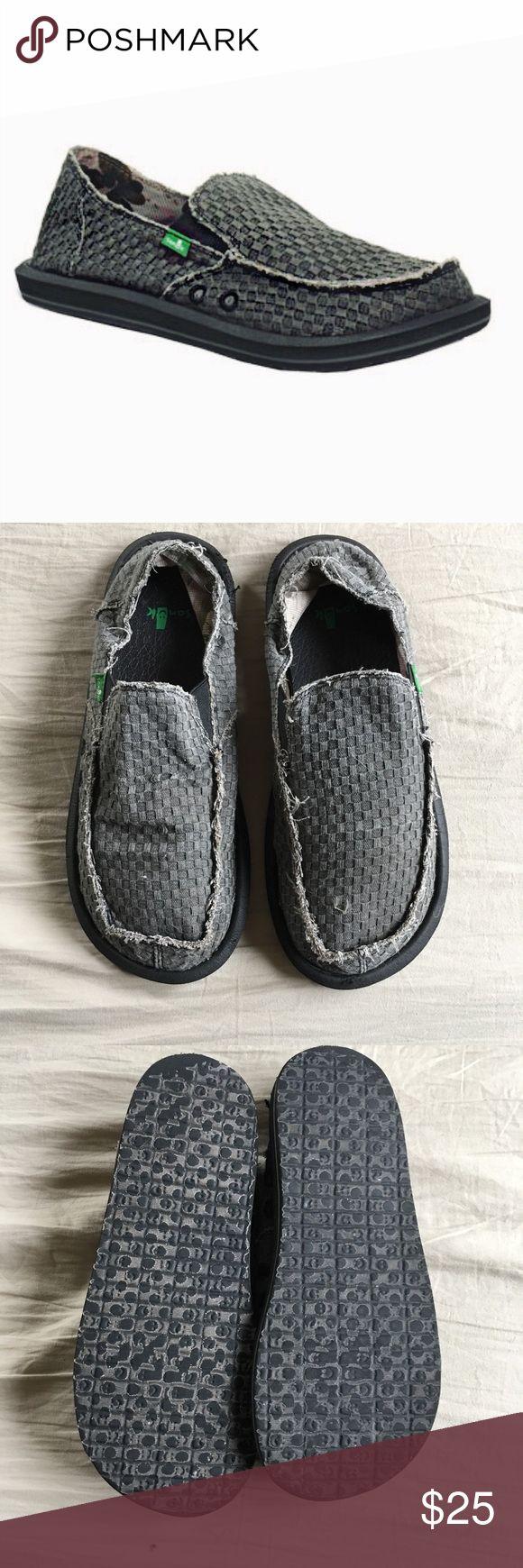 {Sanuk} Men's Vegabond Loafers Primarily Sanuks are beach shoes, Men's size 11, Shoes Loafers & Slip-Ons
