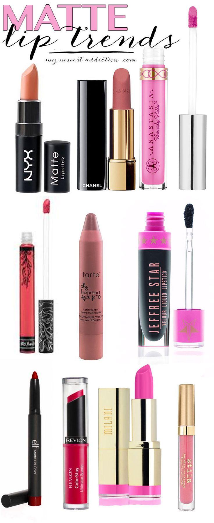Matte Lip Trend - My Newest Addiction