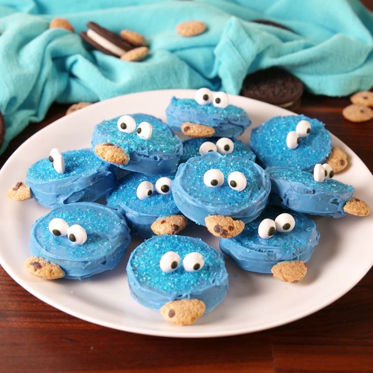 Don't let the Cookie Monster get your cookies! #food #comfortfood #pastryporn #kids #easyrecipe #recipe #diy #home #triedit #magazine
