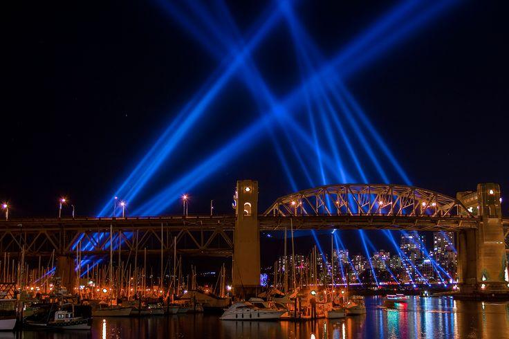 Vancouver // Burrard Street Bridge // Olympics 2010 // Image by Ray Urner // www.rayurner.com