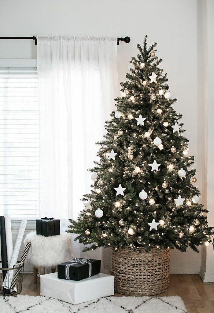 Weihnachtsdeko Ideen traditioneller Weihnachtsbaum