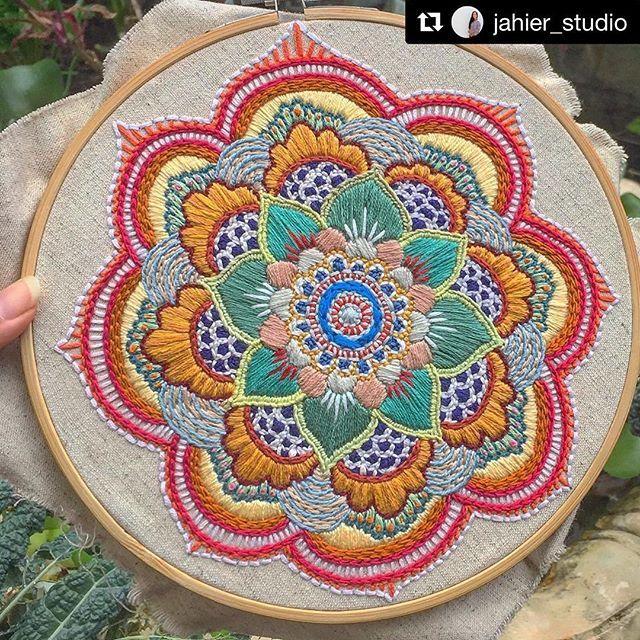 @jahier_studio #embroidery #bordado #ricamo #broderie #handembroidery #needlework