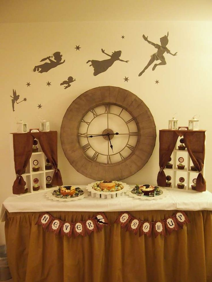 Amazing Peter Pan birthday party! See more party ideas at CatchMyParty.com!