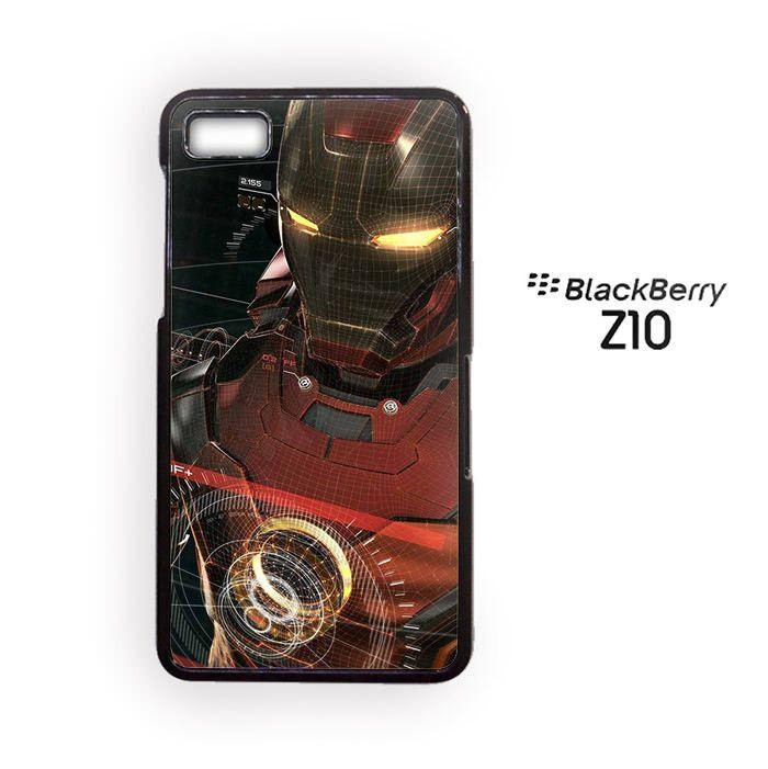 Iron Man Cool for Blackberry Z10/Blackberry Q10 Phonecases
