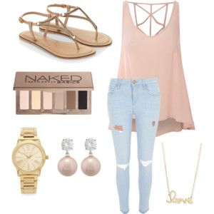 Summer outfit perfect for eating chicken in 👌🏻😊