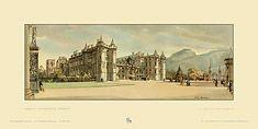 Edinburgh, Palace of Holyroodhouse by Sir Henry George Rushbury