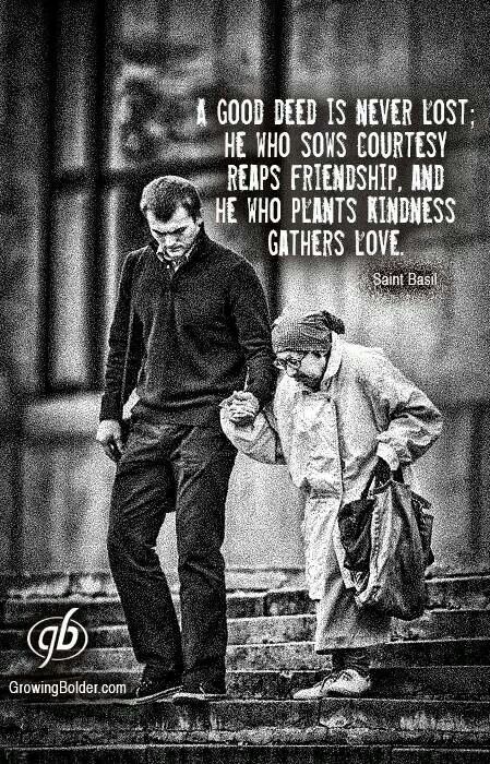 St Basil quote  #kindness