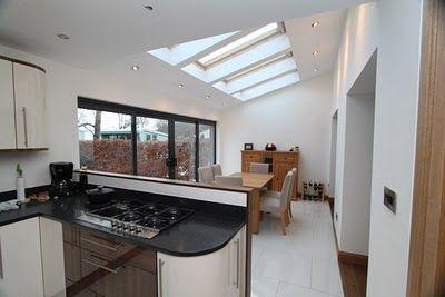 open plan kitchen extension - Google Search
