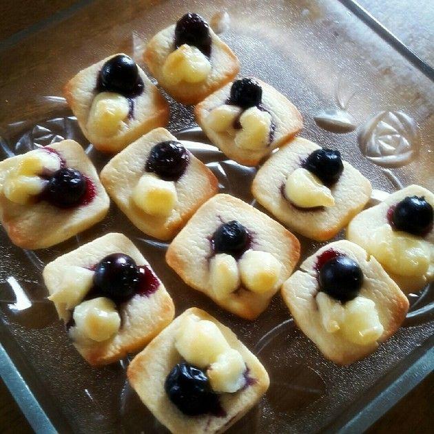 ちょこっとブルーベリーチーズクッキー♪ by みこっっちゃ [クックパッド] 簡単おいしいみんなの