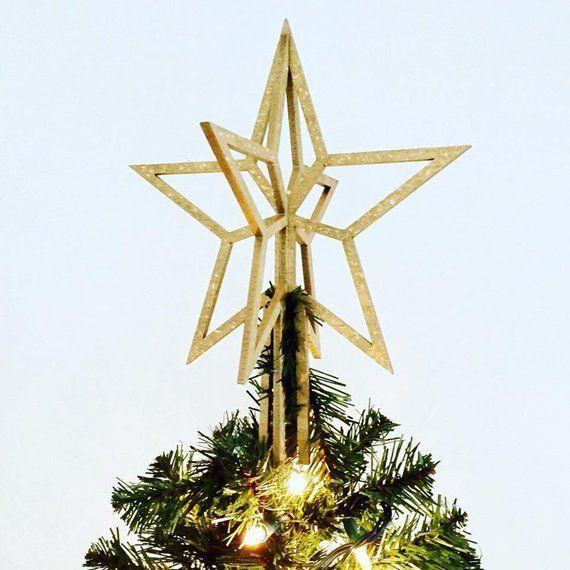 Christmas Tree Topper Gold Star Christmas Tree Topper Gold Star Tree Toppers Christmas Tree Toppers