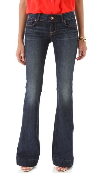 I think these might be the perfect jeans | J Brand Love Story Flare Jeans