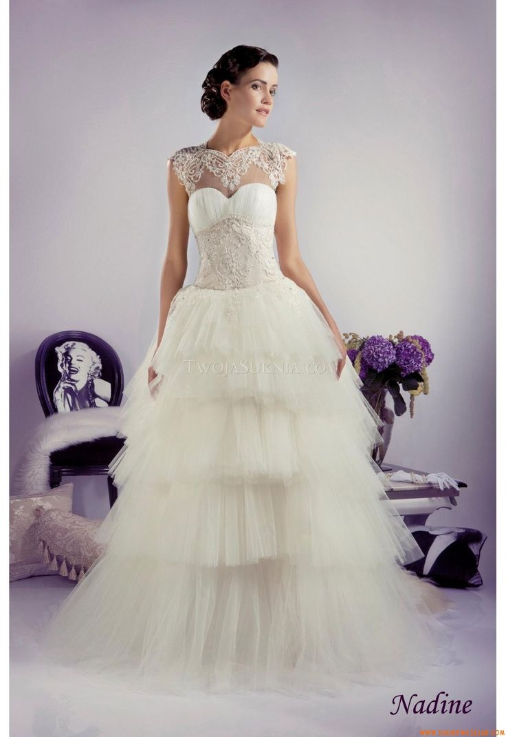Luxurious Sweetheart A Line Wedding Dress China Tanya Grig Nadine 2013