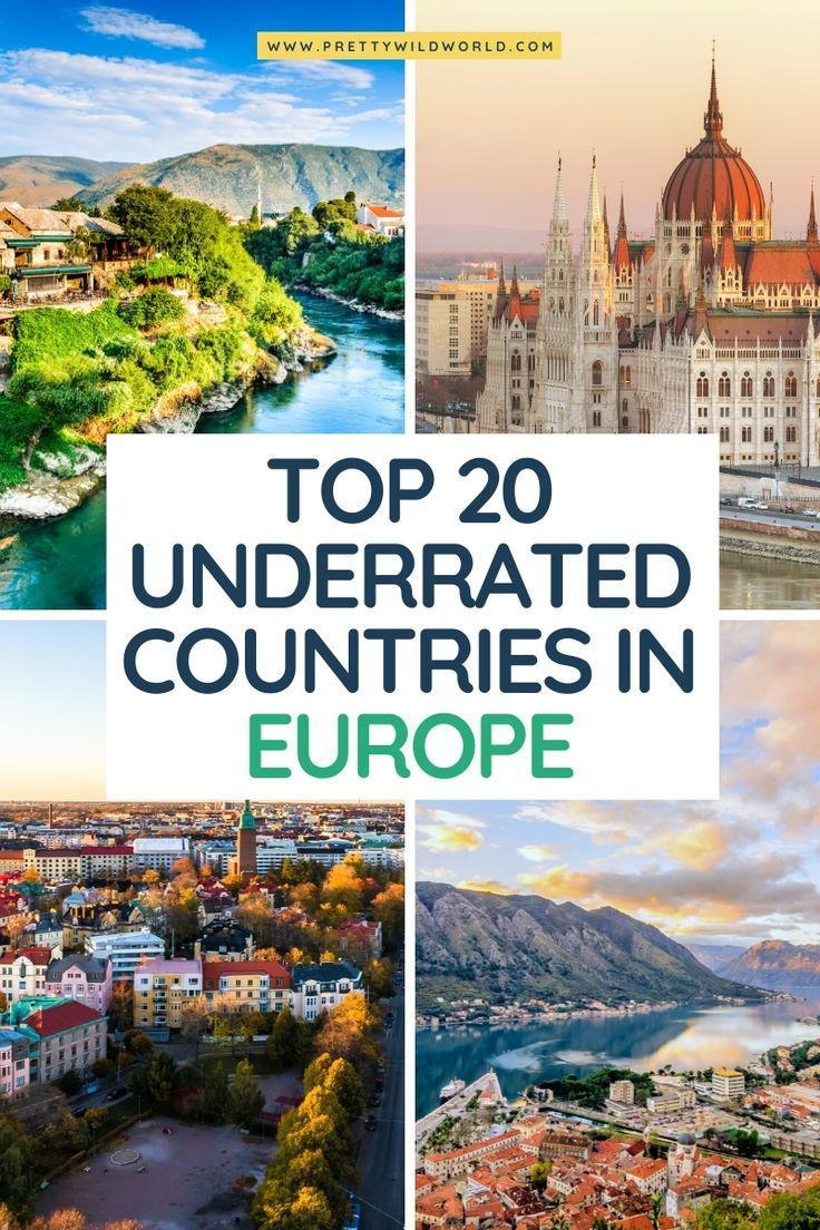 The 20 BEST Underrated Countries in Europe to Visit   Travel ...