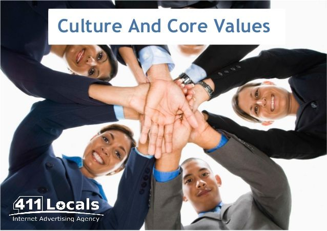 Culture And Core Values